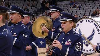 Usaf Band Of The West Armed Forces Medley Spurs Pregame