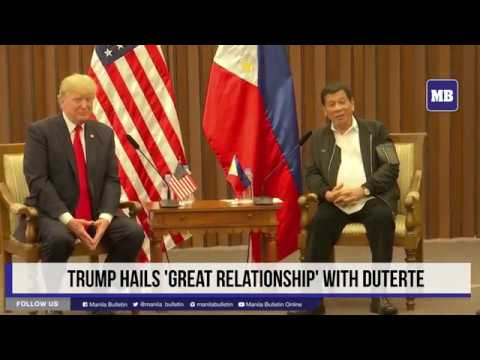 Trump reaffirms good long-standing relationship between PH, US