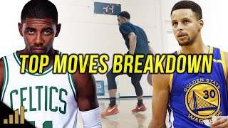 Steph Curry vs. Kyrie Irving - Top Moves REVEALED!
