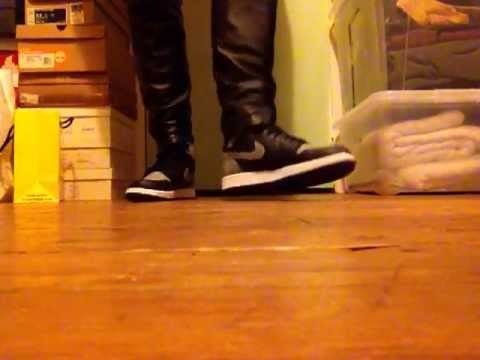 Gay Leather Nike Jordan 1 video