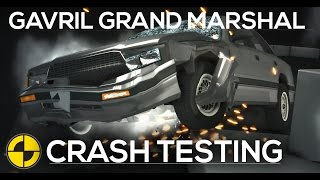 Gavril Grand Marshal IIHS/EuroNCAP Crash Testing - Frontal, Roof, Side & Rear [HD]