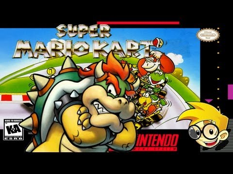 Super Mario Kart - Bowser Fucking Castle!