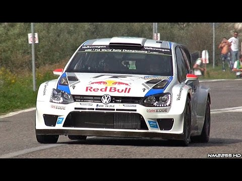320HP Volkswagen Polo R WRC Launch Control & PURE Sound!