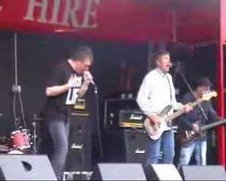 The Undertones at Brooke Park, Derry 2007
