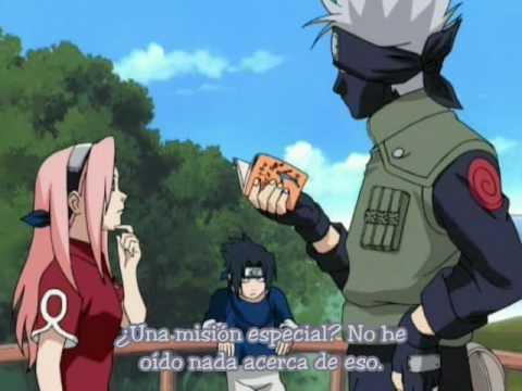 En cuentra el trebol carmesi de cuatro hojas (1/2) (Naruto Ova)