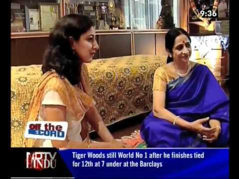 OFF THE RECORD-EPISODE 33 1 (3) - PADMASHRI ARUNA SAIRAM & PADMASHRI...