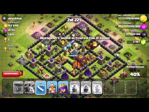 Clash of Clans - First Balloonion Attacks in Champion's League (Warning: Ugly)