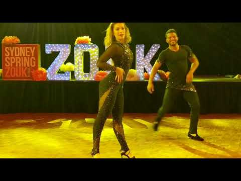 SSZF2018: Layssa & Arthur in performance ~ Zouk Soul