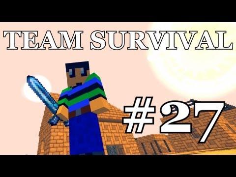 Minecraft - Team Survival #27 AANVALLEN!!