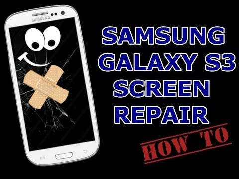 How to replace your Samsung Galaxy S3 Glass for 20$ ! [HD]