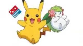 Pokemon Domino's Pizza JPN Commercial 2