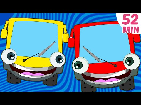 Wheels On The Bus Plus More Nursery Rhymes Collection | 52 Minutes Compilation By Hooplakidz video