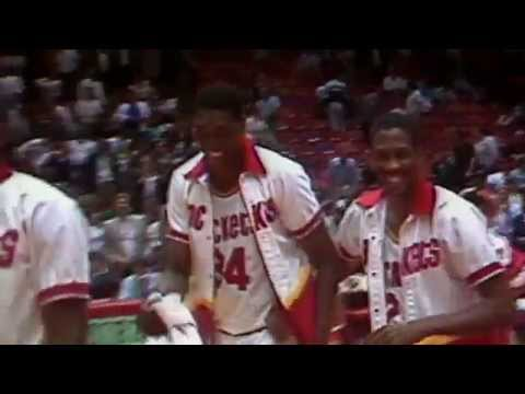 Hakeem Olajuwon's Historic Quadruple-Double: 29 Points/18 Boards/11 Blocks/10 Assists