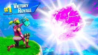 HOW I SURVIVED THE CUBE EXPLOSION in Fortnite Battle Royale