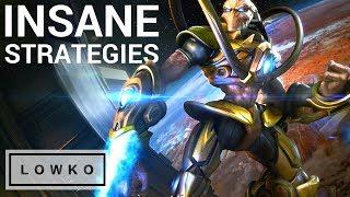 StarCraft 2: INSANE STRATEGIES! (Bo5)