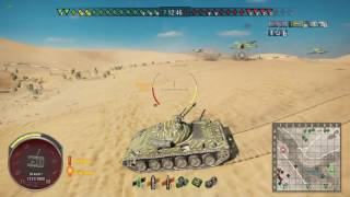 World Of Tanks - Ps4 - Obj 140 - Sand River - Brothers In Arms