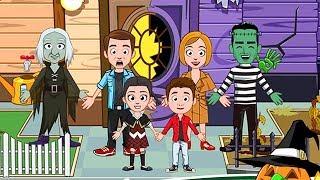 My Town Halloween Geisterhaus App 🎃 Puppenhaus Spiel für Kinder
