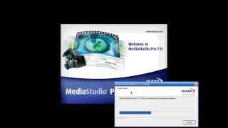 How to install ulead Media studio bangla