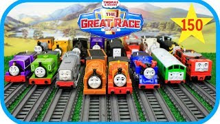 THOMAS AND FRIENDS The Great Race #150|Trackmaster Thomas toys|Thomas & Friends Toy Trains
