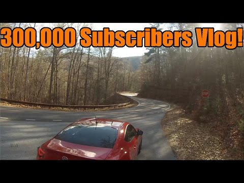 300,000 Subscriber Special Vlog! | A Road Underneath A Waterfall! video