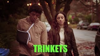Annie Hart - Hard to Be Still (Lyric video) • Trinkets | S1 Soundtrack