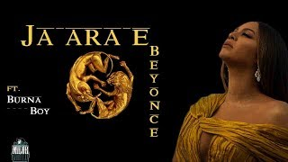 Beyonce - Ja Ara E (LYRICS VIDEO) ft. Burna Boy 🎶