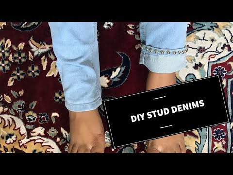 DIY Stud Denims (Jeans) - Do It Yourself