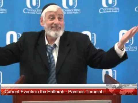 Current Events in the Haftorah - Parshas Terumah 5776