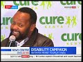 Kamba Singer Victor Mbuvi narrates an emotional story about disability