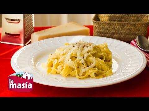 Espaguetis carbonara