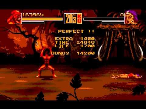 Shaq Fu (Genesis) Gameplay: Beast (Part 1)