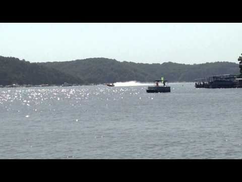Lake of the Ozarks Shootout 2014 Outer Limits wreck