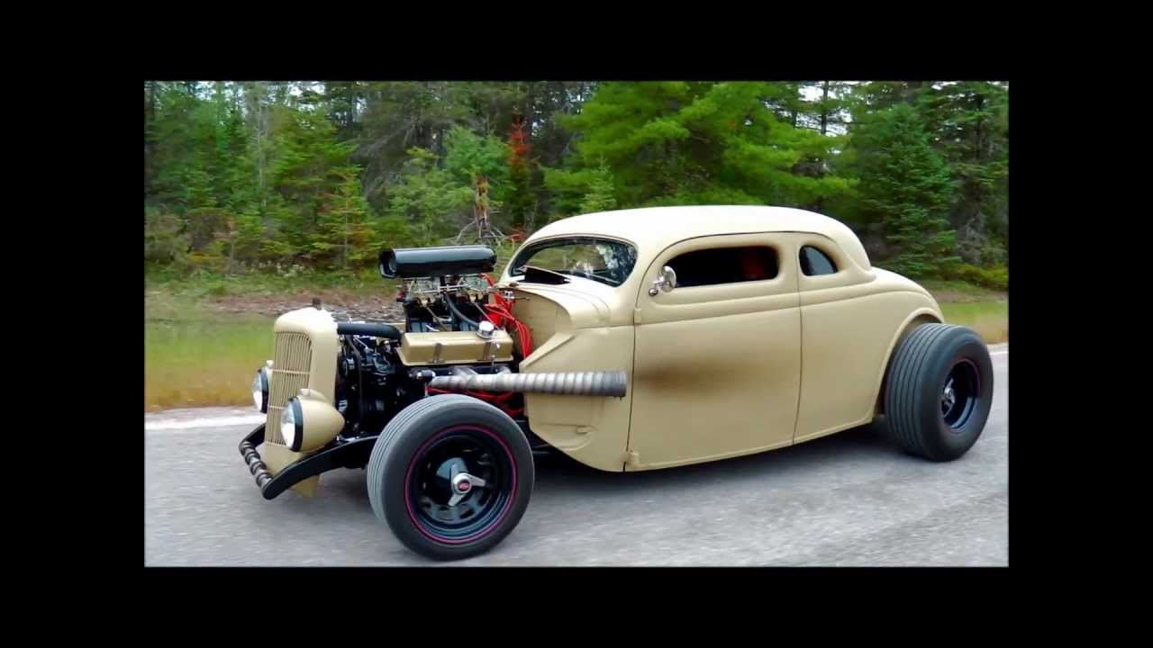 Build A Ford >> 35 Ford rat rod - YouTube