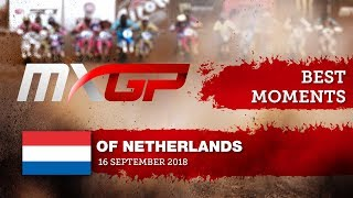 MXGP BEST MOMENTS - MXGP of The Netherlands 2018   #motocross