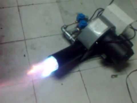 Quemadores para hornos industriales