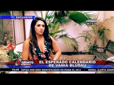 Vania Bludau: Esta fue la reacción al ver el calendario del escándalo