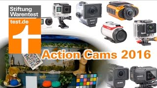 Test Action Cams 2016: Top vs Flop bei Bild, Ton, Stabilizer & Handling