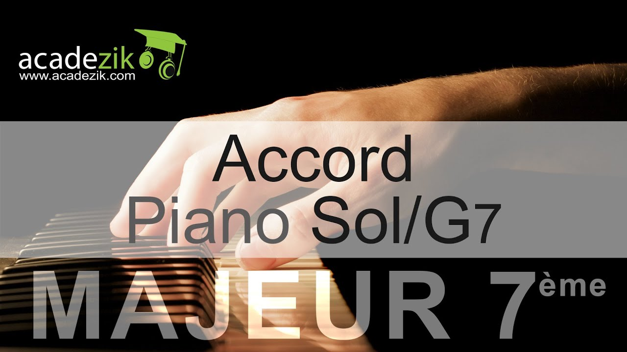 G7 piano chord accord piano sol septi hexwebz Image collections