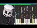 IMPOSSIBLE REMIX - Keep It Mello - Marshmello - Piano Cover