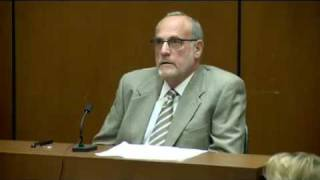 Conrad Murray Trial - Day 16, October 24, 2011 - Dr. Allan Metzger (1 of 2)