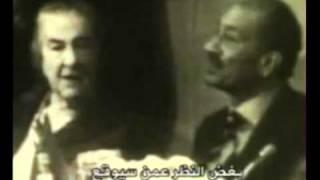 فيديو نادر.. جولدا مائير للسادات: