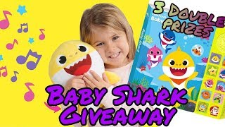 PINKFONG BABY SHARK GIVEAWAY | 2019 GIVEAWAY OPEN #pinkfongbabyshark #giveaway