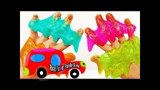 Learn Robocar Poli and TOBOT tool and car toys garage play and Learn Color shapes