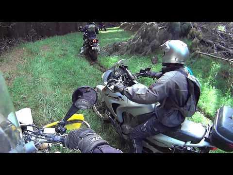 Big adventure motorcycle ride, New Zealand