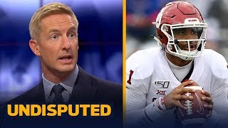 Jalen Hurts needs to win Red River Showdown if he wants the Heisman — Joel Klatt | CFB | UNDISPUTED