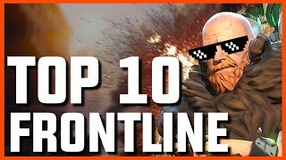 HERO HUNTERS | Top 10 Frontline Heroes