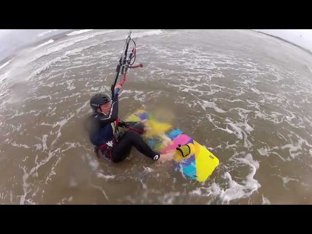 KA Kitesurfing, Board starts, Nice try but no cigar