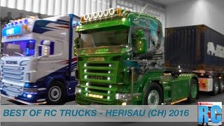 BEST OF RC TRUCK EVENT - NEW YEARS DAY RC DRIVE SWITZERLAND - HERISAU 2016, RC TRUCK