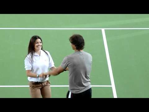 Djokovic and Nadal dancing salsa in Colombia HD