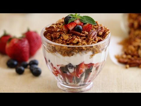 Homemade Granola (Maple & Pecan) - Gemma's Bold Baking Breakfast Ep. 1